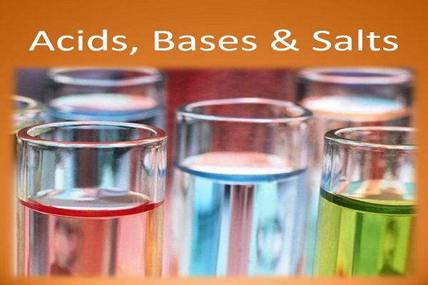 Example of Acids, Bases and Salts in daily life