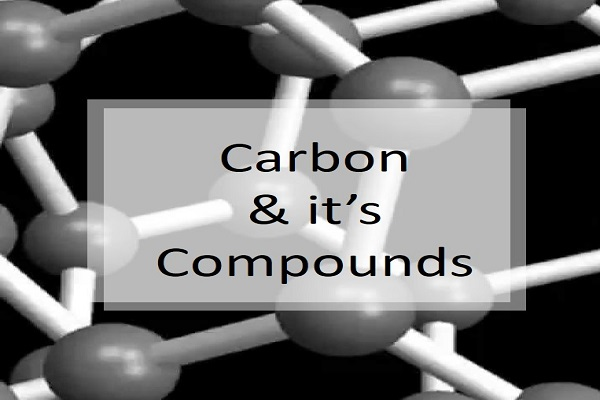 Example of Carbon and Its Compounds? in daily life