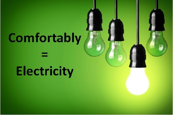 Example of Electricity  in daily life