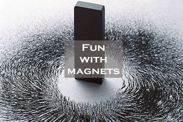 Example of Fun with magnets in daily life
