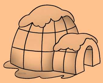 Science Class 2 Housing and Clothing Igloo