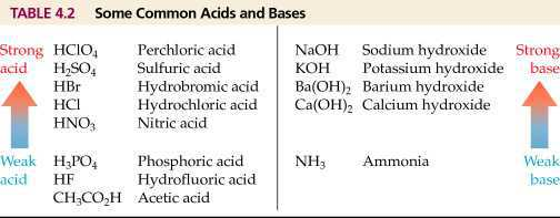 Science Class 10 Acids, Bases and Salts How are acid and base commom