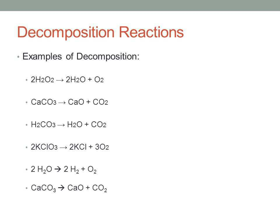 Science Class 10 Chemical Reactions and Equations Decompostion reaction